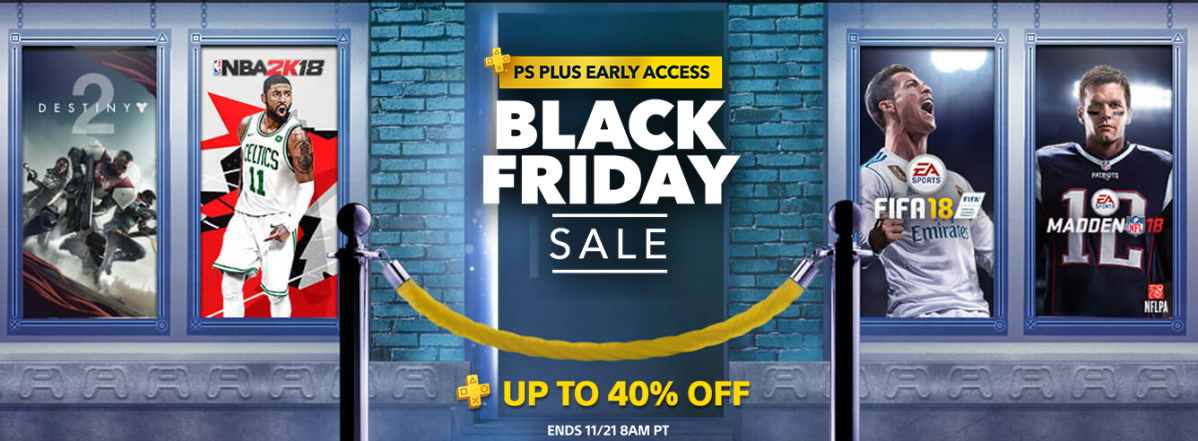 Deals: PlayStation reveals early access Black Friday Sale