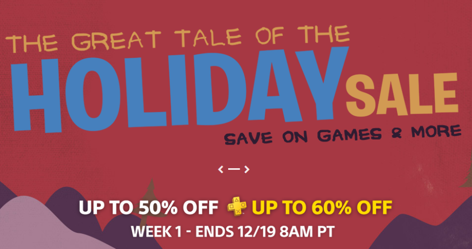 Deals PlayStation Store Holiday Sale 5 Weeks Of Savings