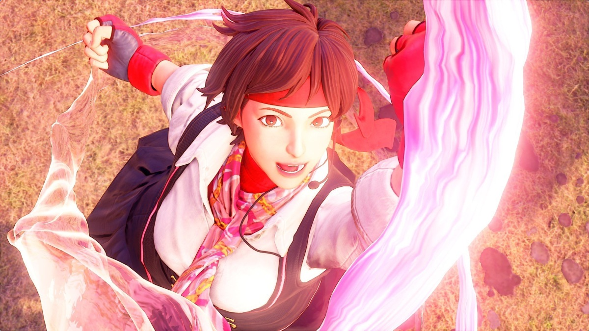 Street Fighter V- Sakura Introduction Trailer